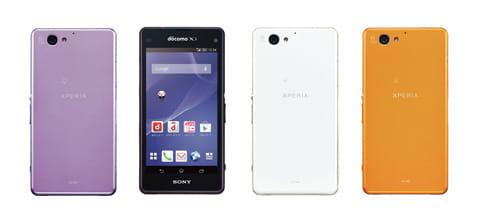 コンパクトで持ちやすい「Xperia™ A2 SO-04F」。ディスプレイサイズは4.3インチ