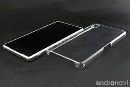 「Xperia Z2」を守る軽量クリアカバーケース