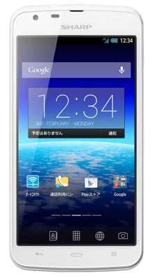 BIGLOBEスマホこと、シャープ製の「AQUOS PHONE SH90B」