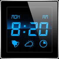 『アラームクロック』~置き時計に最適!スリープタイマー付き&天気もわかる高機能アラ...