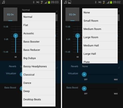 Cloudskipper Music Player:豊富なテンプレートから、手軽に音質を切り替えられる