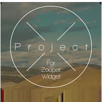 Project X for Zooper Widget