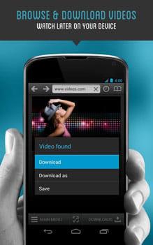 ダウンローダ&プライベートブラウザ無料:手軽に動画などのファイルをダウンロード