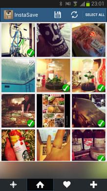 InstaSave - Instagram Save:保存したい画像を選んで決定するだけ