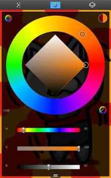 3枚目は影などを描こう。色指定のスポイトツールを使うと楽にできる