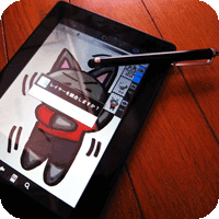 あなたのタブレットで本格的なイラストを描いてみよう!