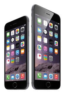 ディスプレイサイズが4.7インチの「iPhone 6」と5.5インチの「iPhone 6 Plus」