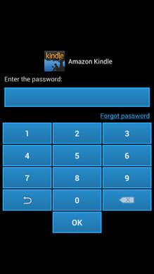 Application-Locker Free:アプリ起動時に最初に設定したパスコードを入力しよう