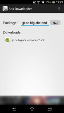 Apk Downloader Extension