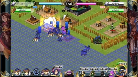 戦国X(センゴククロス):大量のキャラクターが戦う戦闘シーン。戦国時代はこうでなくっちゃ!
