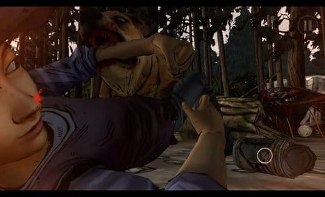 The Walking Dead: Season Two:各シーンの描写がとにかくリアル。