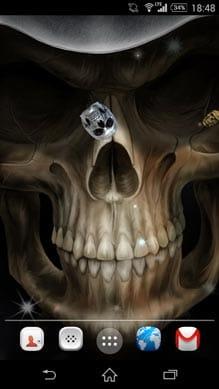 頭蓋骨は、壁紙を生きる