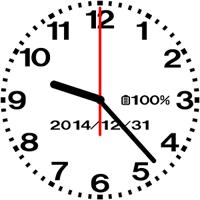 デザイニングアナログ時計壁紙-No05