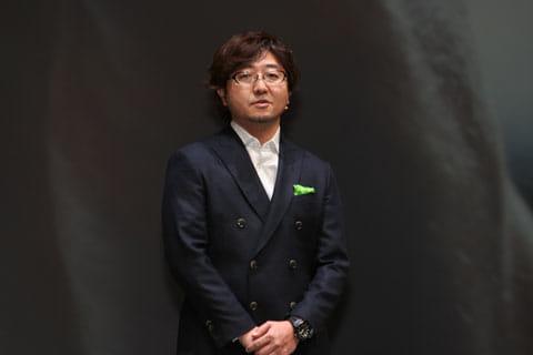 LINEの近況を説明する森川社長