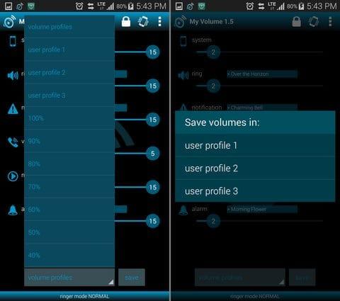 My Volume audio manager:細かい調整や設定、保存が一括でできるので大変便利