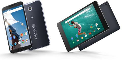 Nexus 6とNexus 9