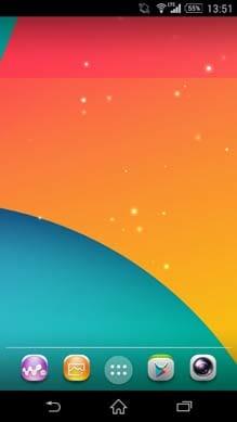 Nexus 5 ライブ壁紙