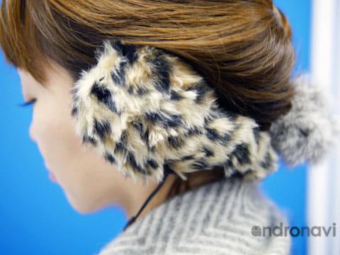 防寒性に優れ、しかも音楽が聴けてダブルで便利