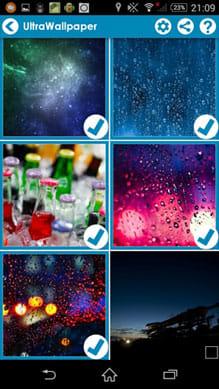 FotoSwipe -Swipe, Share Photos:送りたい画像を選択