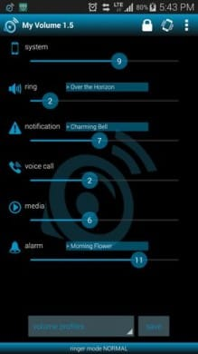 My Volume audio manager