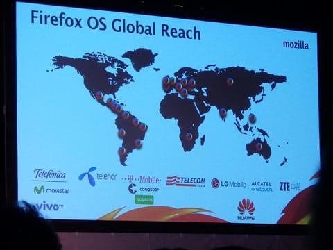 世界でも受け入れられつつあるFirefox OS搭載スマートフォン