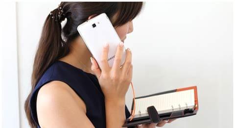 ノート型モバイルバッテリー