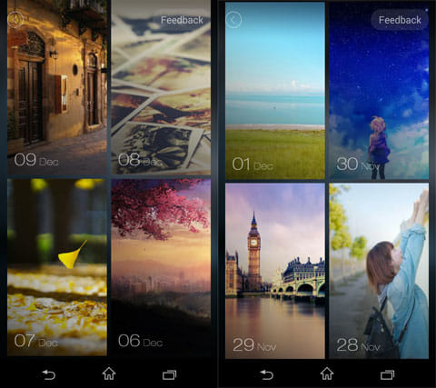 ZUI Locker:本アプリのロック画面用画像コレクション