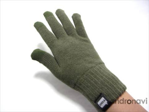 普通の手袋としても十分使えます
