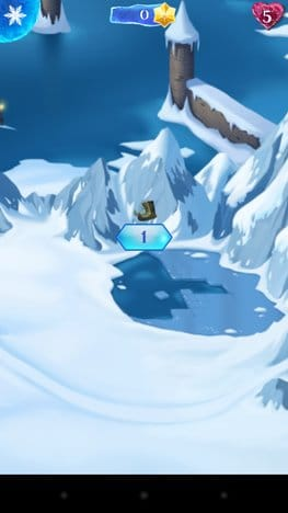 アナと雪の女王: Free Fall:ポイント2