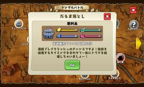 勇者トリデ BAGOOON!!:日毎に敵地の砦の資源が復活する。