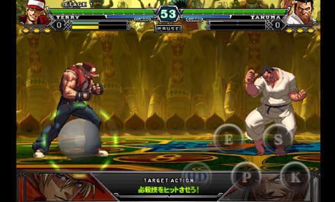 THE KING OF FIGHTERS-A 2012(F):ポイント2