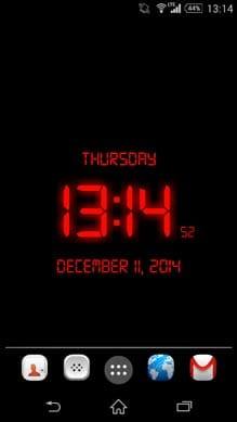 LED Digital Clock LiveWP