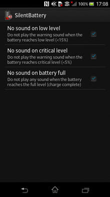Disable Low Battery Beep