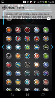 Krom icons pack