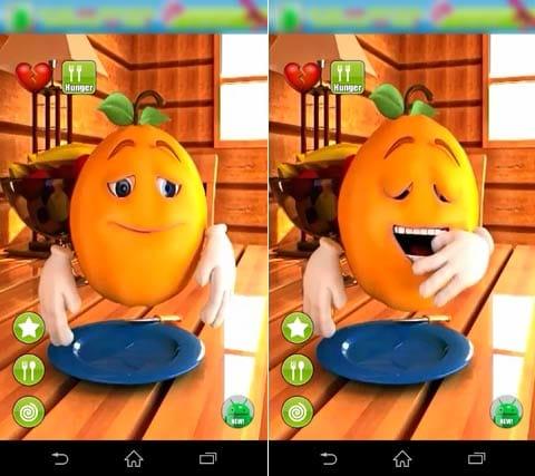トーキングオレンジフルーツフリー:様々な表情を見せてくれるオレンジ