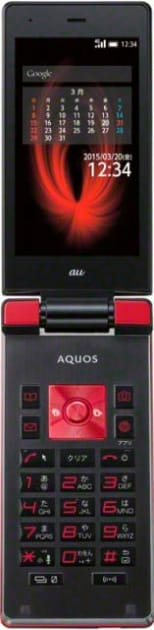 LTE通信に対応したAndroid搭載ガラケー「AQUOS K SHF31」