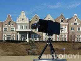 光学12倍ズームの望遠レンズと三脚もセットになったレンズキット