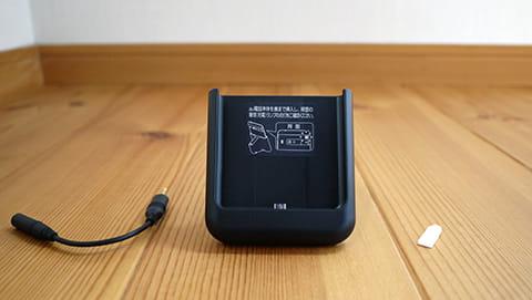TVアンテナケーブルは、ワンセグ・フルセグを視聴する際、イヤホンマイク端子につける必要がある
