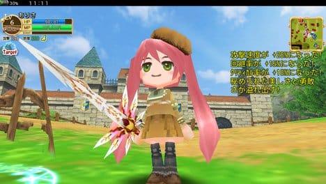 RPGエレメンタルナイツオンライン【ロールプレイング】:装備の種類が豊富で可愛い!