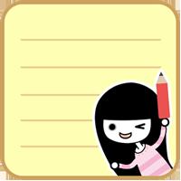 My Deco Memo Sticker☆美しいメモを~