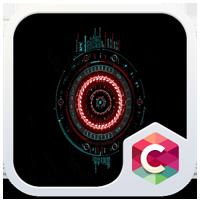 『未来的な Cランチャー テーマ』~ホーム画面をロボットのコックピットのようなデザイ...