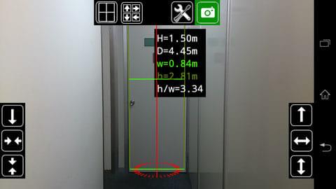 下げ振り·ボブ - 垂直次元計測:全景が映るような位置取りが大事