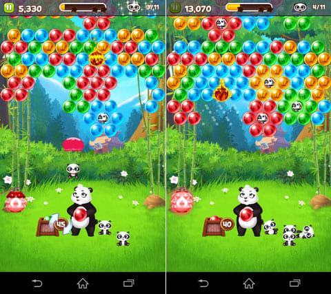 Panda Pop:同じ色のバブルを投げて、子パンダを救い出せ!投げたい場所をタップするだけのシンプル操作が魅力