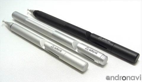「Adonit Jot Pro 2.0」は約14cm、「Adonit Jot Mini 2.0」は約12cm