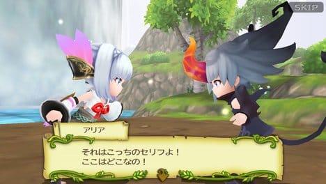 聖剣伝説 RISE of MANA:今作は天使と悪魔を切り替えて進むシステム。