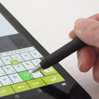ボールペンのようにスラスラ書ける!透明ディスク搭載の新感覚スタイラスペン(タッチペン)
