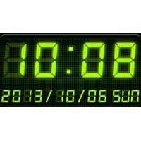 7セグLEDデジタル時計ウィジェット - Me Clock