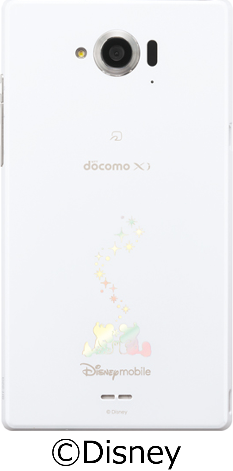 Disney Mobile on docomo SH-02G