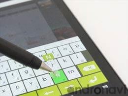 ボールペンのようにスラスラ書けるタッチペン