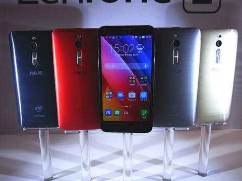 「ZenFone 2」のカラーバリエーションは4色